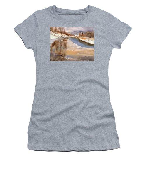 Edge Of Winter Women's T-Shirt