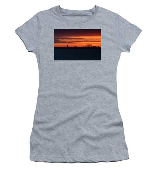 Egmont Key Lighthouse Sunset Women's T-Shirt