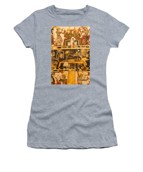 Egyptian Wall Art Women's T-Shirt