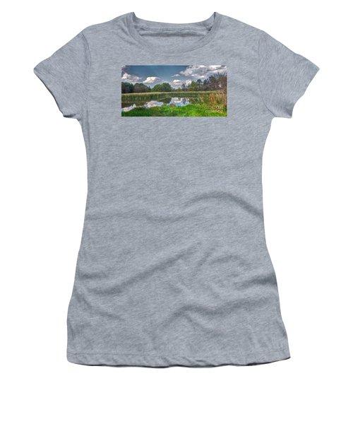 Ellis Pond Women's T-Shirt (Athletic Fit)