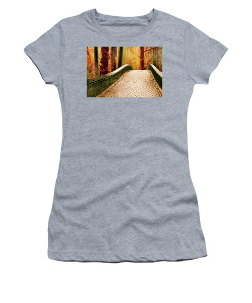 Women's T-Shirt featuring the photograph Enchanted Autumn by Jessica Jenney