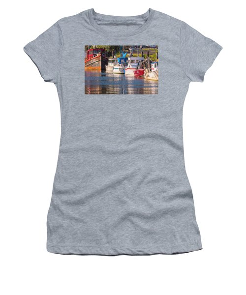 Evening At The Harbor Women's T-Shirt