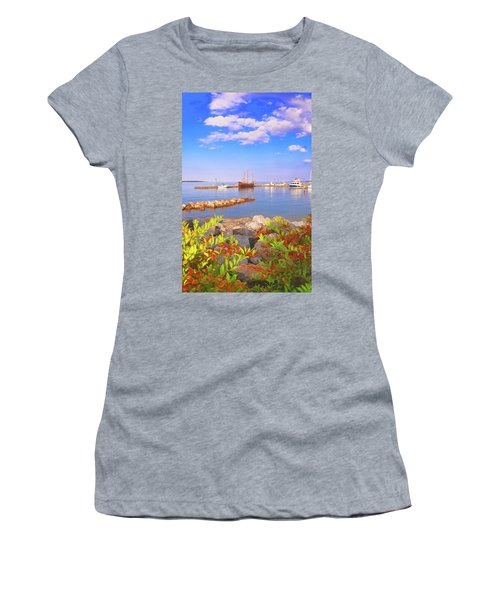 Evening At The York River In Yorktown Virginia Women's T-Shirt