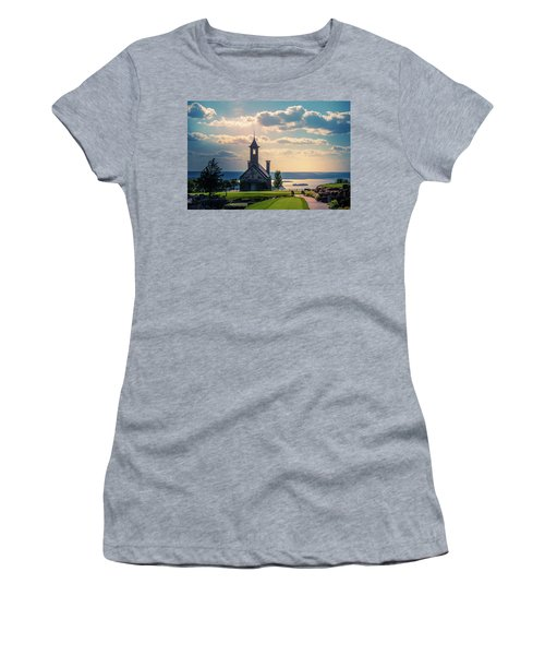 Women's T-Shirt featuring the photograph Evening At Top Of The Rock by Allin Sorenson