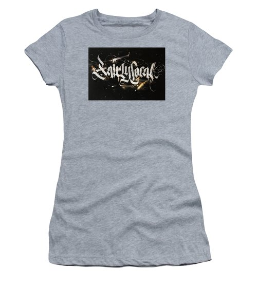 Fairly Local. Calligraphic Abstract Women's T-Shirt