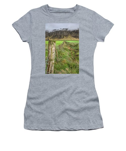 Fence Of Iceland Women's T-Shirt