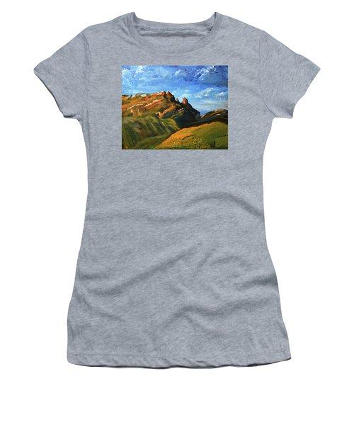 Finger Rock Splendor  Women's T-Shirt