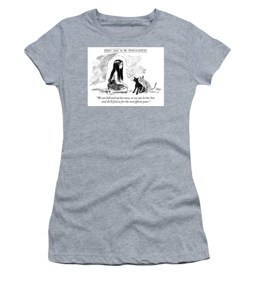 First Cats To Be Domesticated Women's T-Shirt