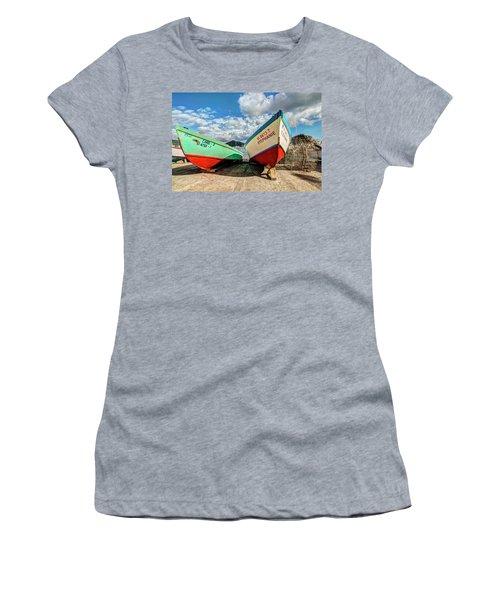 Fishing Boats In Frenchtown Women's T-Shirt