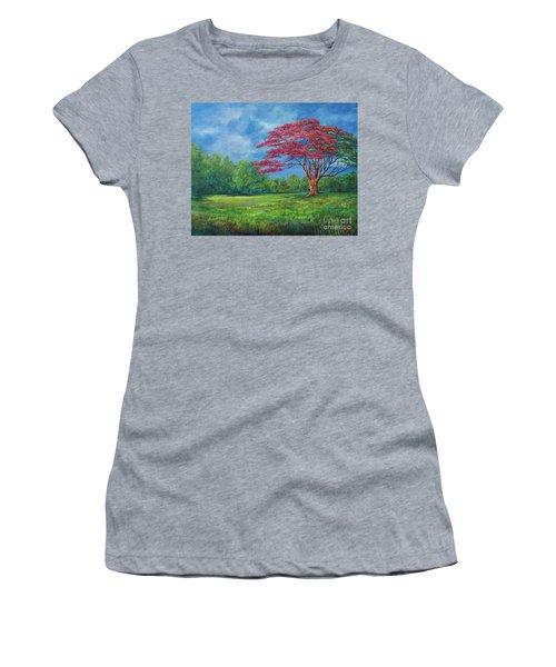 Flame Tree Women's T-Shirt