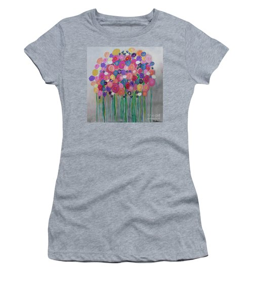 Floral Balloon Bouquet Women's T-Shirt