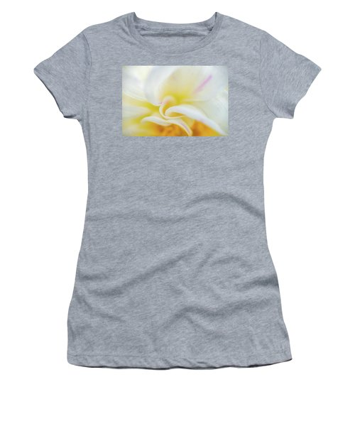 Women's T-Shirt featuring the photograph Flower Curves by Francisco Gomez