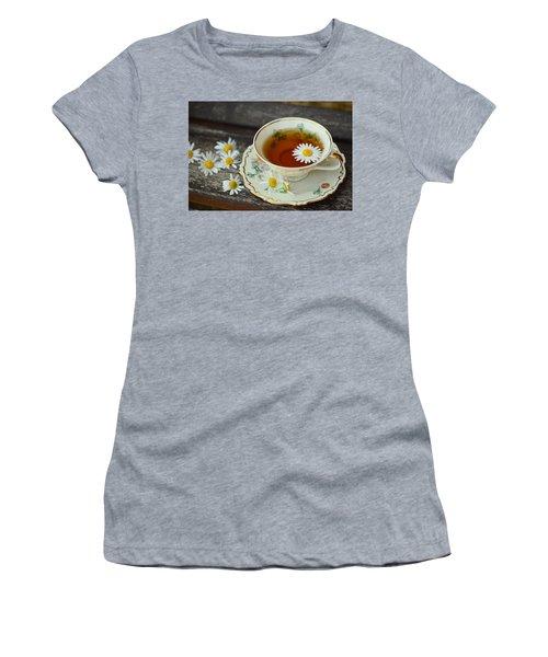 Flower Tea Women's T-Shirt (Athletic Fit)