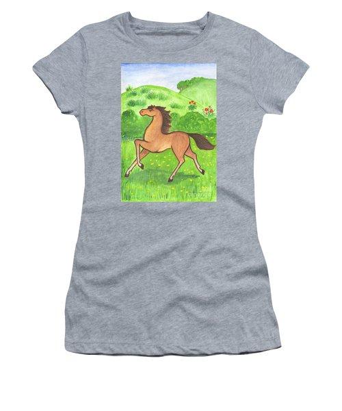 Foal In The Meadow Women's T-Shirt