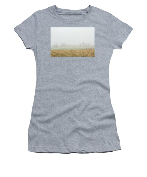 Foggy Country Morning Women's T-Shirt