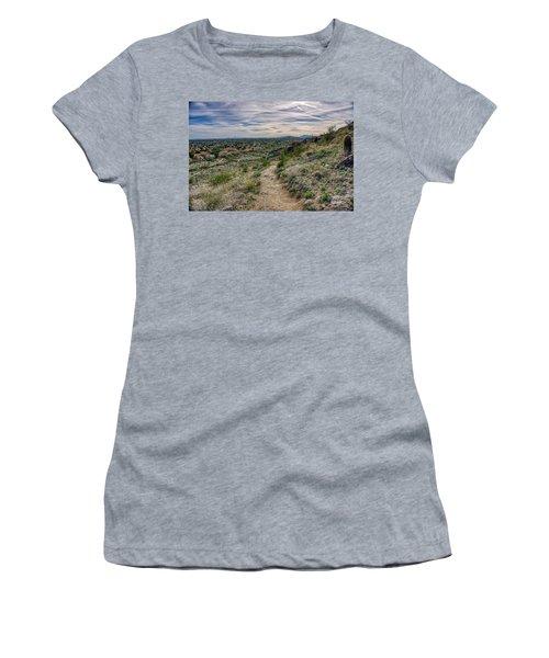 Following The Desert Path Women's T-Shirt