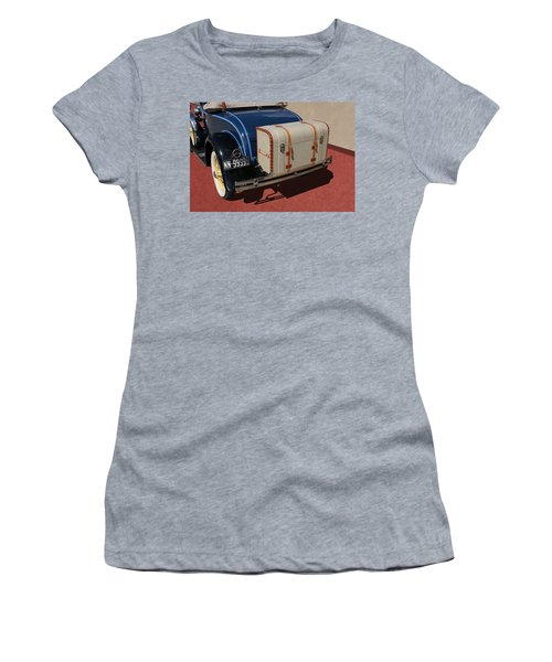 Women's T-Shirt featuring the photograph 1931 Ford Model A Roadster by Debi Dalio