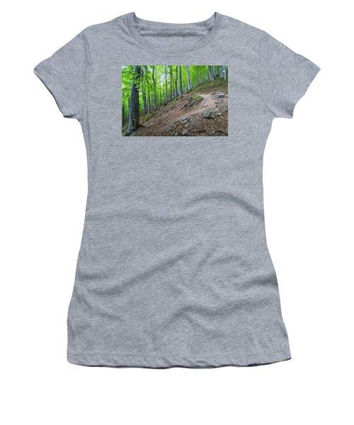 Forest On Balkan Mountain, Bulgaria Women's T-Shirt