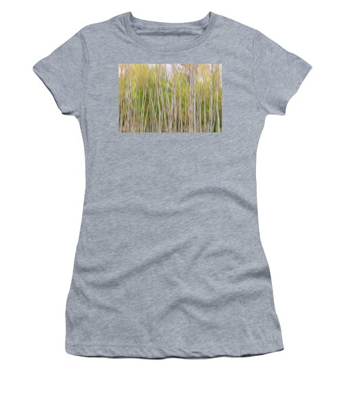 Women's T-Shirt (Athletic Fit) featuring the photograph Forest Twist And Turns In Motion by James BO Insogna
