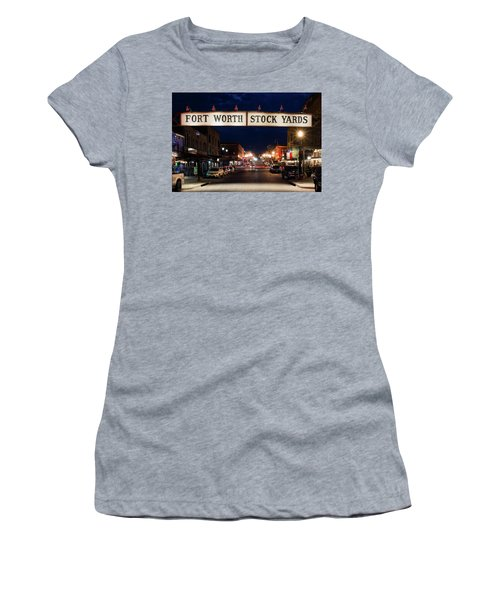 Fort Worth Stock Yards 112318 Women's T-Shirt