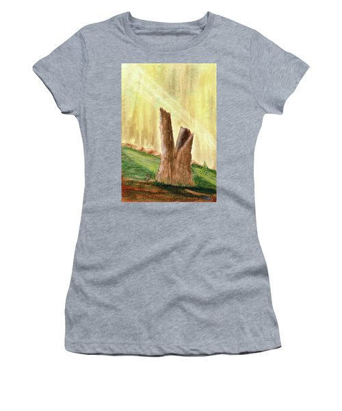 From Ruins Comes New Life Women's T-Shirt
