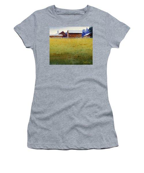 Garner Farm, Mineral Point, Wi Women's T-Shirt