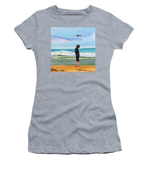 Gazing At Gulls Women's T-Shirt