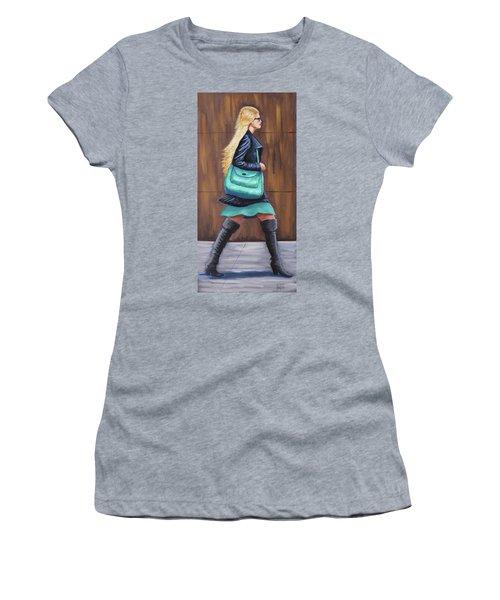 Girl Walking Women's T-Shirt