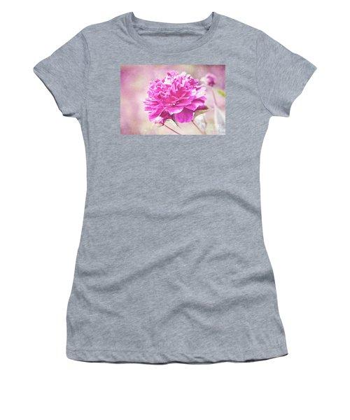 Glorious Pink Peony Women's T-Shirt
