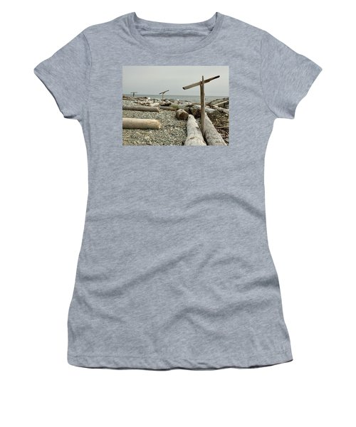 Go North Young Man Women's T-Shirt (Athletic Fit)