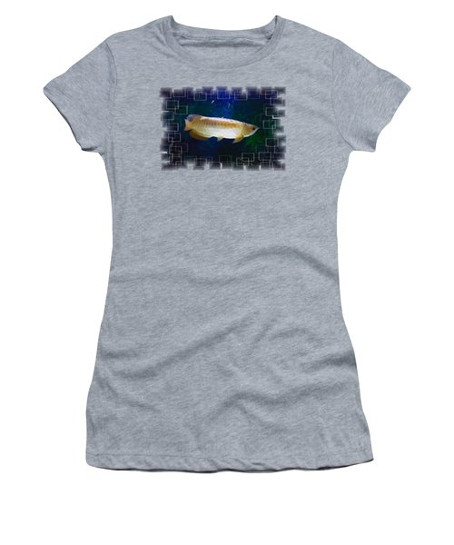 Gold Arowana Portrait Women's T-Shirt