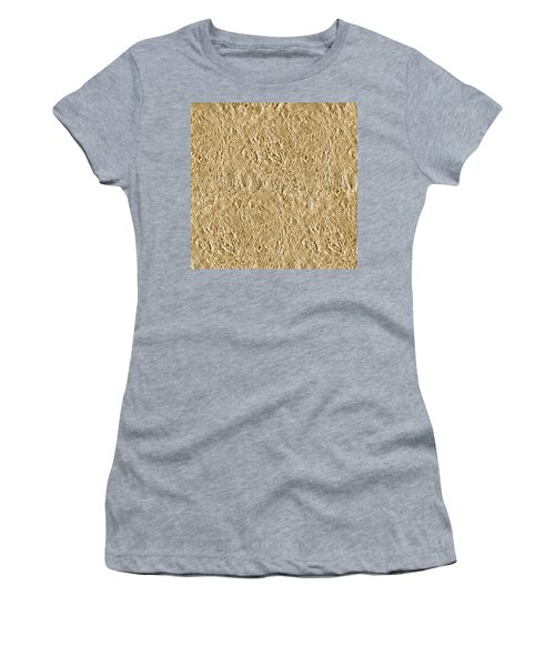 Women's T-Shirt (Athletic Fit) featuring the photograph Gold Gift  by Top Wallpapers