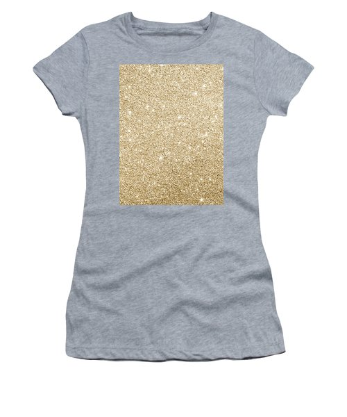 Gold Glitter Women's T-Shirt
