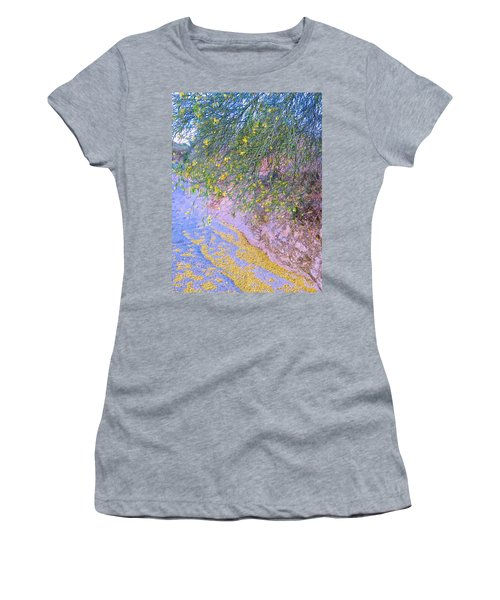 Golden Petals In A Desert Wash Women's T-Shirt