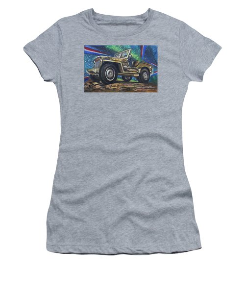 Grandpa Willie's Willys Jeep Women's T-Shirt