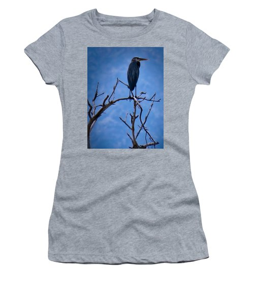 Great Blue Heron 3 Women's T-Shirt