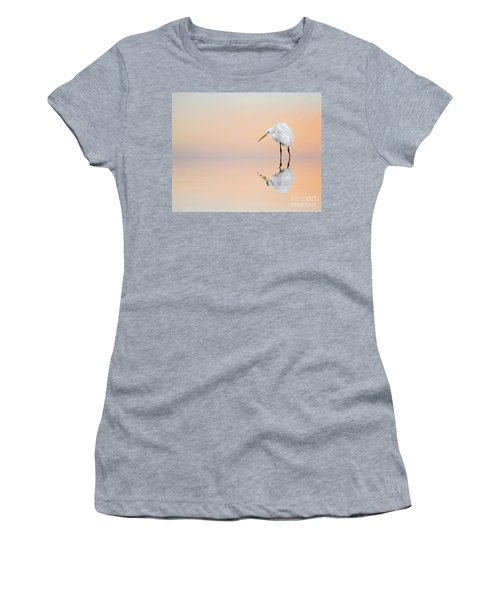 Great Egret Reflecting Women's T-Shirt
