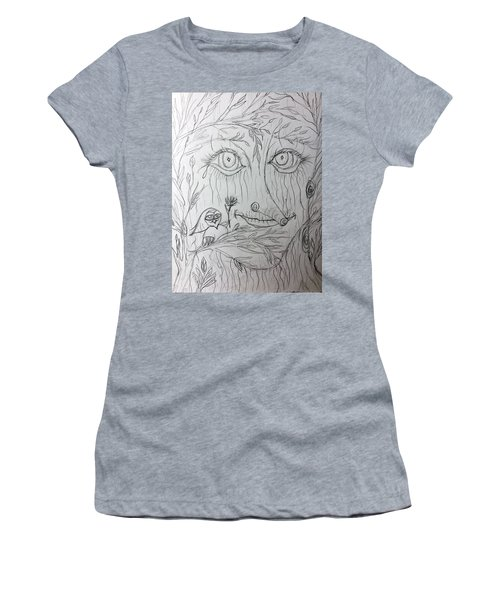 Green Man Of The Forest Women's T-Shirt