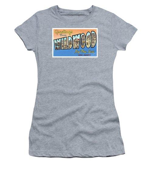 Wildwood Greetings - Version 4 Women's T-Shirt