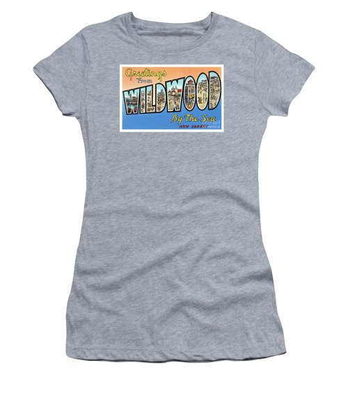 Wildwood Greetings - Version 4 Women's T-Shirt