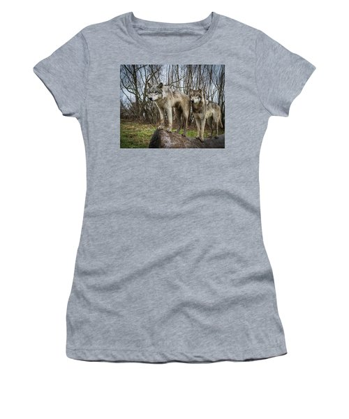 Hangin On The Log Women's T-Shirt