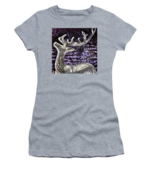 Happy Holiday Sparkle Women's T-Shirt