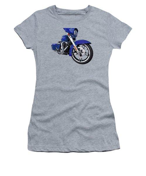 Harley Blue Street Glide Women's T-Shirt