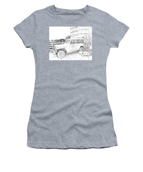 Harvest At Magnolia - Ink Women's T-Shirt
