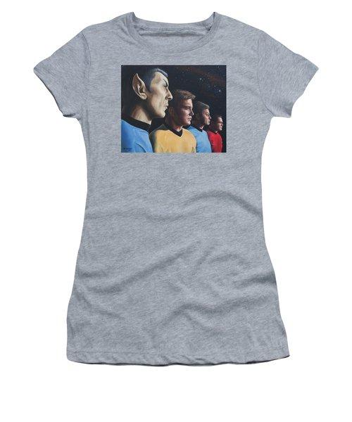Heroes Of The Final Frontier Women's T-Shirt