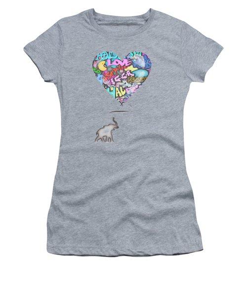 Holdin On For Love Women's T-Shirt