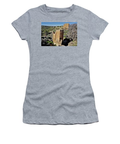 Holly Tower At Hovenweep Women's T-Shirt