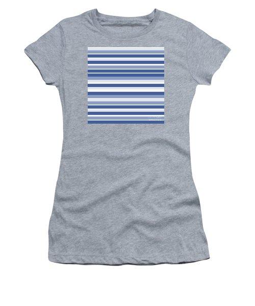 Horizontal Lines Background - Dde607 Women's T-Shirt
