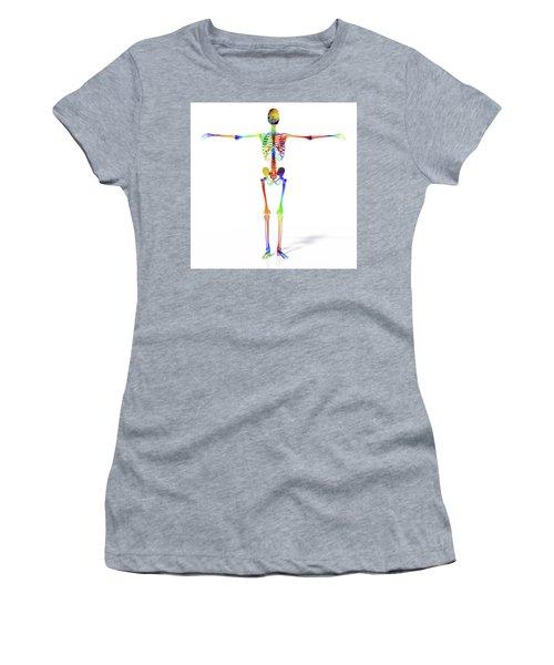 Human Skeleton Model Women's T-Shirt
