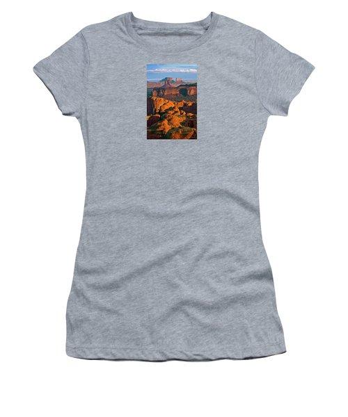 Hunts Mesa Sunrise Women's T-Shirt
